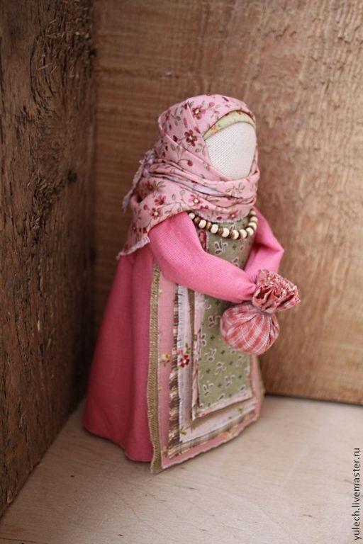 """Купить Народная русская куколка с узелком """"Дороженька..."""" - народная кукла, лоскутки, дорога, подорожница"""