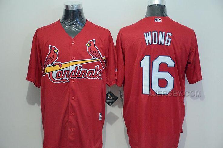 http://www.xjersey.com/cardinals-16-kolten-wong-red-new-cool-base-jersey.html CARDINALS 16 KOLTEN WONG RED NEW COOL BASE JERSEY Only $35.00 , Free Shipping!