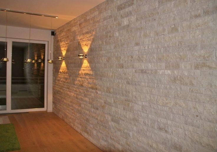 Elegant Steinwand Verblender Fotos Von Wohndesign Dekoration