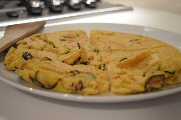 Ricetta Vegana: frittata alle zucchine senza uova