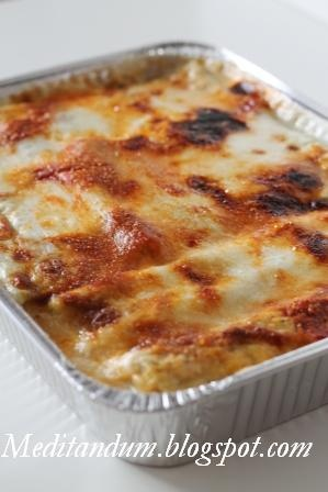 Cannelloni with ricotta and spinach - Cannelloni di ricotta  e spinaci - Meditandum