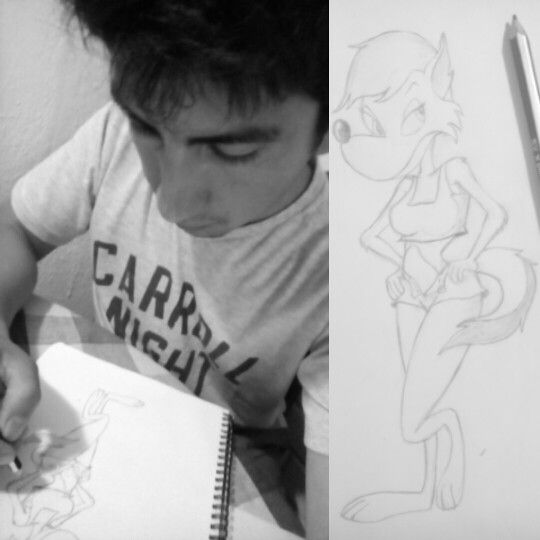 Dibujando personajes