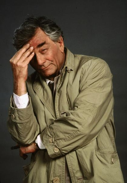 Trade mark Trech Coat on Columbo starring Peter Falk, great detective series. He never ironed the coat. I guess they didn't have wrinkle resist fabrics back then.