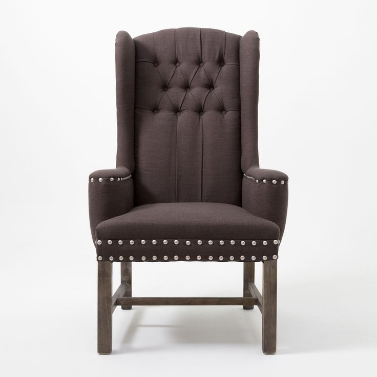 In stock! High Back Armchair $299 http://wickeremporium.ca