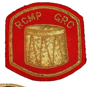 Appointment patch (Drummer) worn on the right sleeve above any rank chevrons