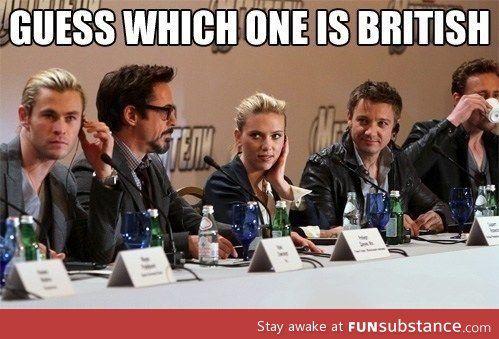 Classic Tom, drinking the tea!
