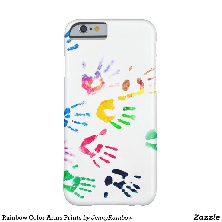 Rainbow Color Arms Prints Barely There iPhone 6 Case