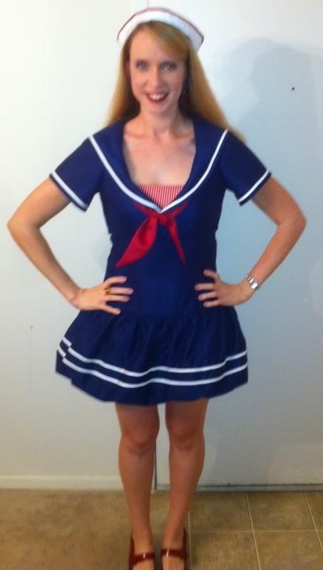 Adventures of Lauren: Sailor Halloween Costume