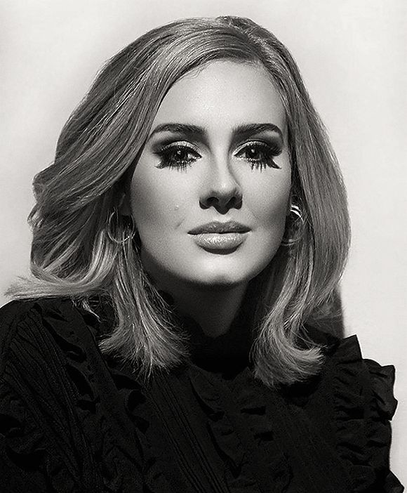 Beautiful picture - Adele - Do not know photographer's name. If you do let me know. hayward-simmons