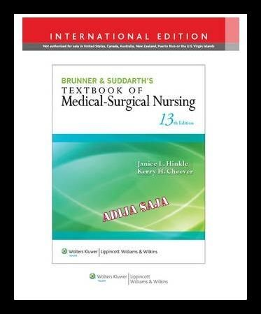 Brunner & Suddarth's Textbook of Medical-Surgical Nursing 13th Edition