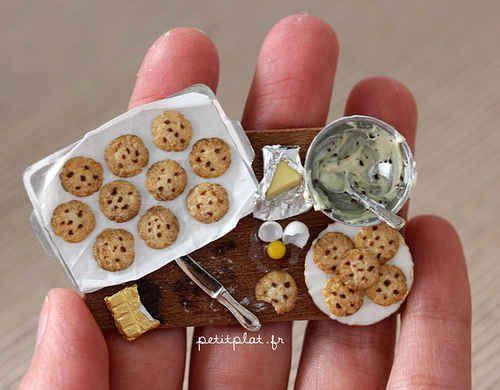 The teeniest baking project.