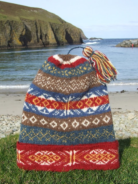 37 best Shetland cap images on Pinterest   Crocheted hats, Fair ...