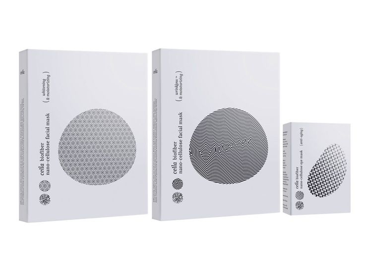 When Kawakong Designworks produced packaging forCella Paramedical's  Nano-Cullulose Facial & Eye Mask they relied on their interpretation of the  product rather thanthe appearance to create packaging that appeals to  consumers.