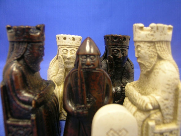 19 best images about chess sets on pinterest civil wars moscow and marbles - Lewis chessmen set ...