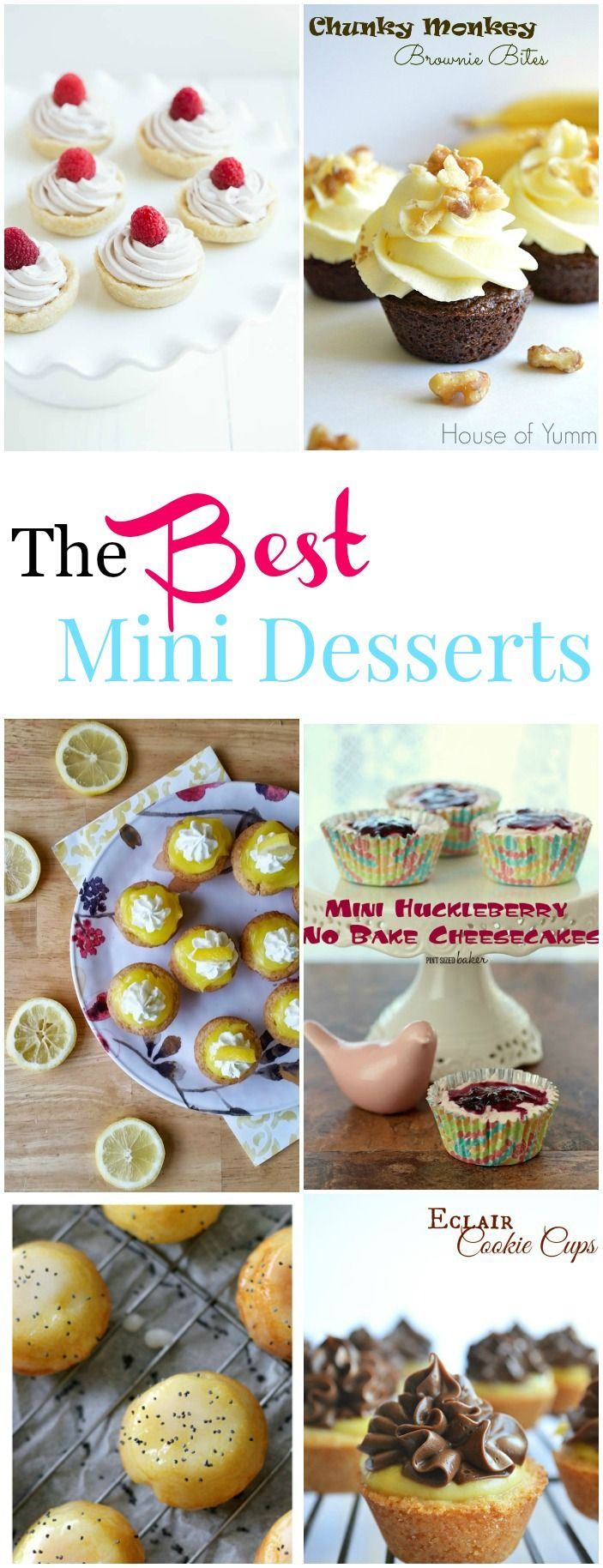 The BEST Mini Desserts collected by The Melrose Family