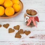 Glutenfrie og veganske appelsin og kokos småkager