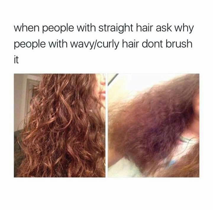 I wish my hair had some wave it's flatter than shaken sodas.