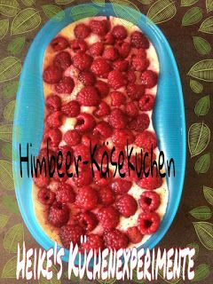 ☆ Heike & # 39; s Kitchen Experiments ☆: Raspberry cheesecake made from omelet mousse …