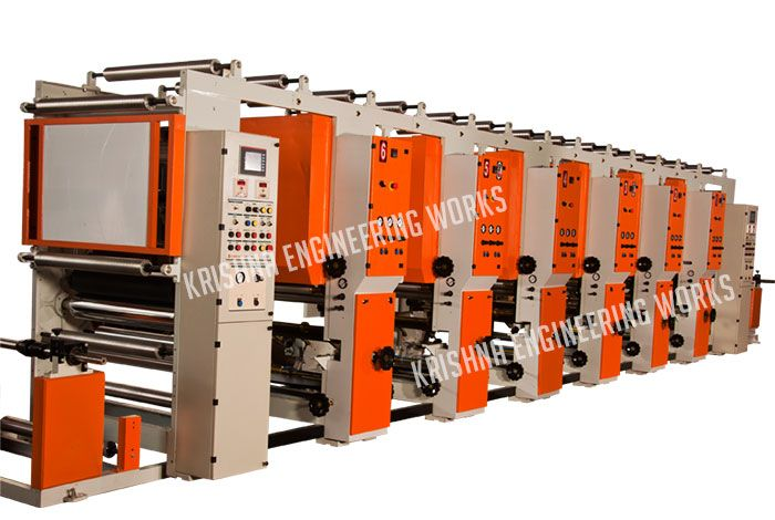 High speed Rotogravure Printing Machine #manufacturer from India, we deal in Rotogravure Printing Machine with 4, 6, 8, 10 color with different materials. #Rotogravure #Printing which is suitable is printing on plastic, paper packaging, BOPP film etc. Also available with Slitting Rewinding #Machine and Web Guiding System, Flexo Printing, Lamination and Coating Machine.