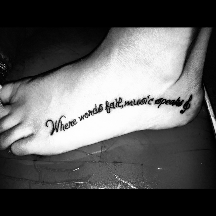 Tattoo Quotes Music: 91 Best Tattoo Ideas Images On Pinterest