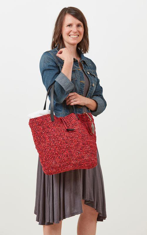 Martha's Vineyard Tote Crochet Kit