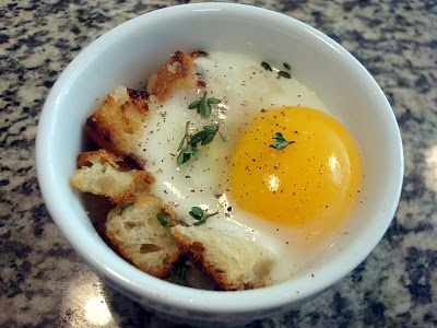 Eggs en Cocotte | Food/drink /delicious / yummy / 美味 | Pinterest