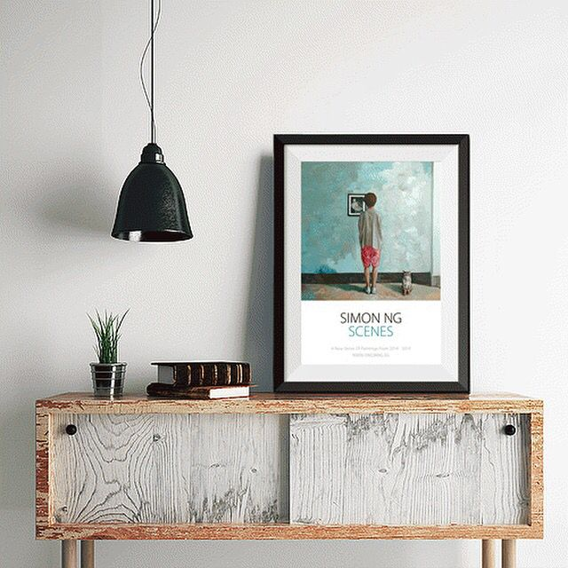 Add something special to your home with a framed fine art poster from the scene series.