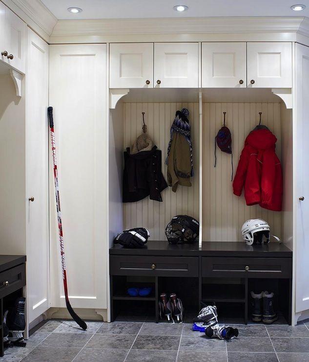 Anne Hepfer Designs Laundry Mud Rooms Kids Mudrooms Boys Mudrooms Mudroom Cabinets Floor