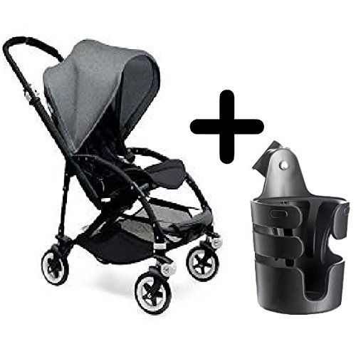 Bugaboo Bee3 Stroller Black/Grey Melange  Bugaboo Cup Holder For Sale https://bestbabycarseat.review/bugaboo-bee3-stroller-blackgrey-melange-bugaboo-cup-holder-for-sale/