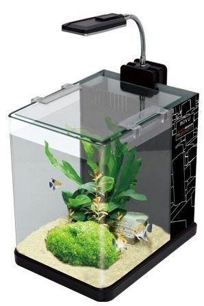 aquário boyu jad me175a com filtro e luminária led - 110v