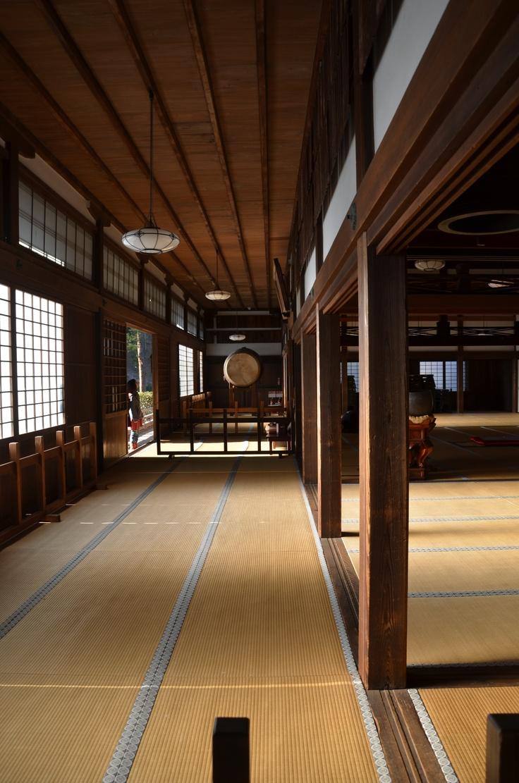 Inside of temple in Kamakura