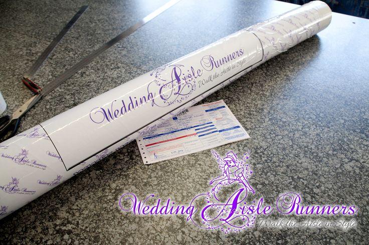 Custom-designed, personalized wedding aisle runners at www.wedding-aisle-runners.co.za WE SHIP WORLDWIDE
