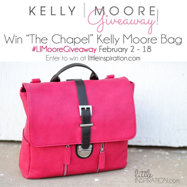 Kelly Moore Bag Giveaway! #LIMooreGiveaway