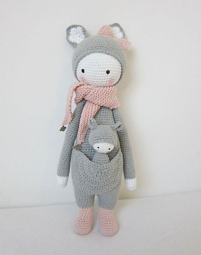 Amigurumi Dolls By Artist Lydia Tresselt : 24 best images about Lalylala on Pinterest