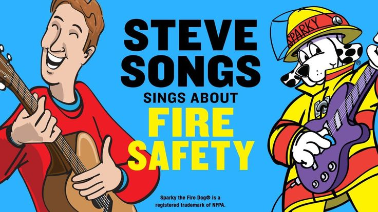 Fire Safety Video for Kids with SteveSongs & Sparky the Fire Dog