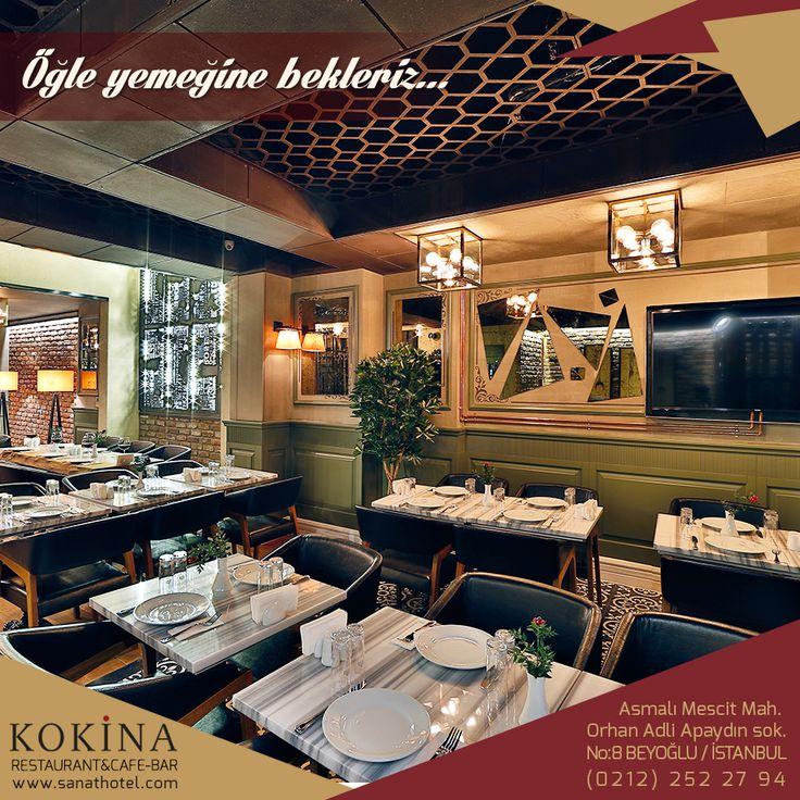 İş arkadaşlarınızla ne yiyeceğinize karar veremiyorsanız, Kokina Restaurant lezzetli öğle yemekleri için hoş bir alternatif sunuyor. #SanatHotel #Taksim #Beyoğlu #Pera #otel #hotel #Asmalımescit #İstanbul #Galata #konaklama #Kokina #restaurant #cafe #bar