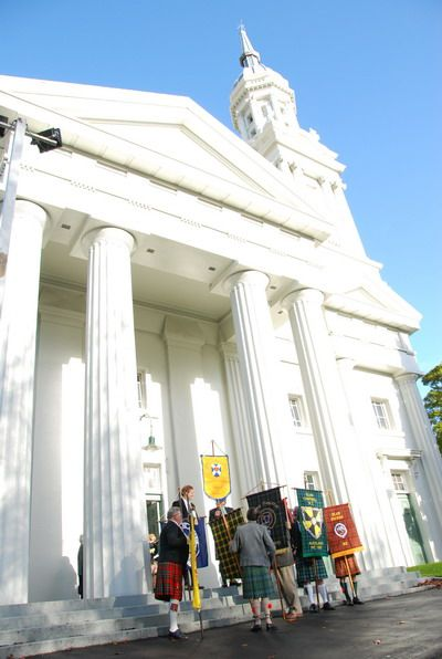 St Andrew's fluted columns