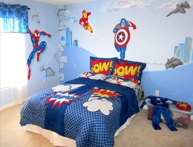 Las 25 mejores ideas sobre dormitorio s per h roe en - Arte en bano ...