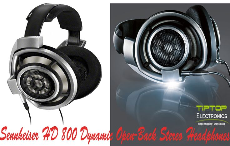 Buy Sennheiser HD 800 Headphone which provide professional-quality audio in a comfortable design