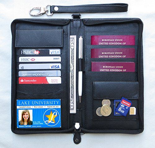 world family 4 passport document holder organiser With family passport and document holder