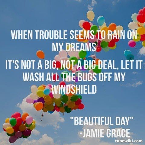 Beautiful day jamie grace lyrics