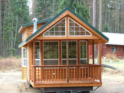 60 best tiny house plans images on pinterest small for Weekend cabin plans