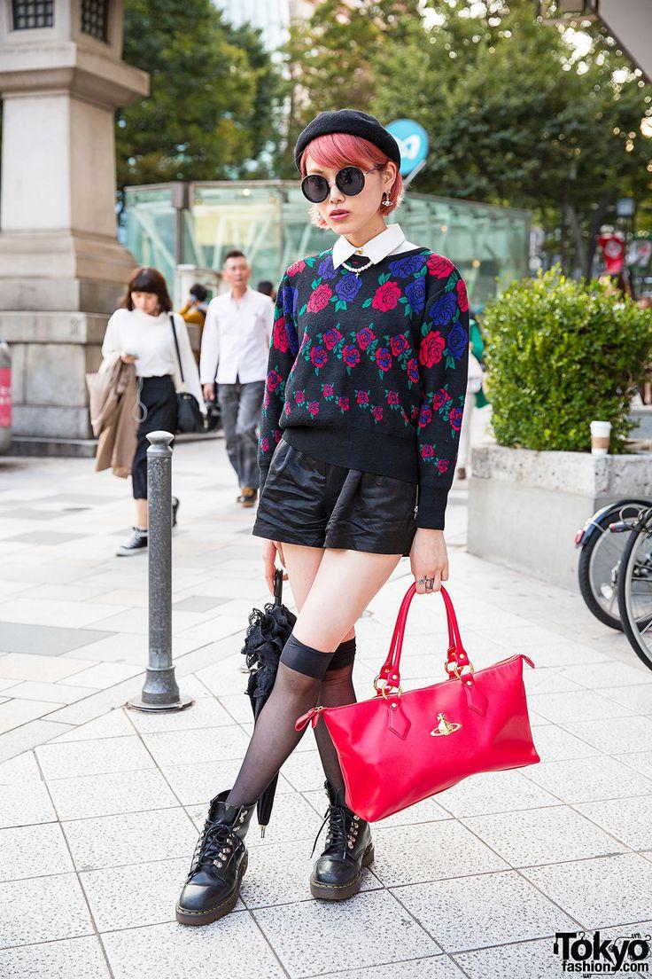 Street Style: the Fashion Overdose on the Streets. Model: Mizuki. (Harajuku, Japan - December, 2014)