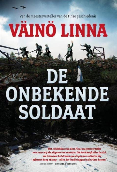 De onbekende soldaat  De onbekende soldaat van Väinö Linna was in Finland een bestseller. Deze realistische en spannende roman die in 1954 in Finland verscheen en een jaar later in Nederland gaat over een groep soldaten in de Finse Vervolgoorlog van 1941-1944. Dit was de eerste Finse oorlogsroman zonder ideaalbeelden en met kritiek op de oorlogspropaganda. De roman beschrijft de concrete werkelijkheid zoals de honger de angst en de persoonlijke en collectieve trauma's die het gevolg zijn van…