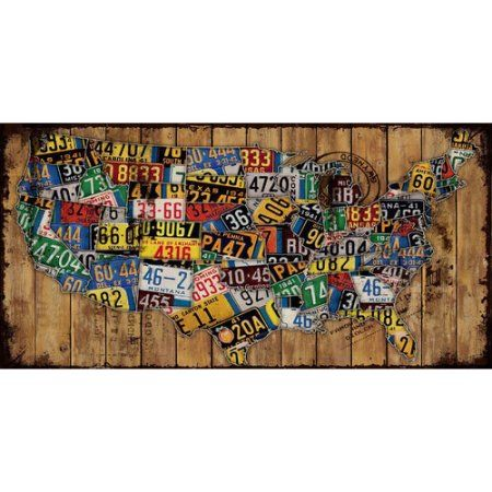 Marmont Hill Classic Plates Painting Print on Canvas, Multicolor