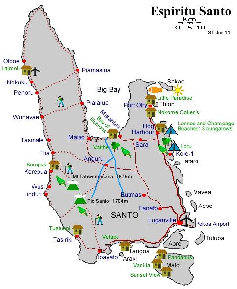Harvest Tour Volcano Map