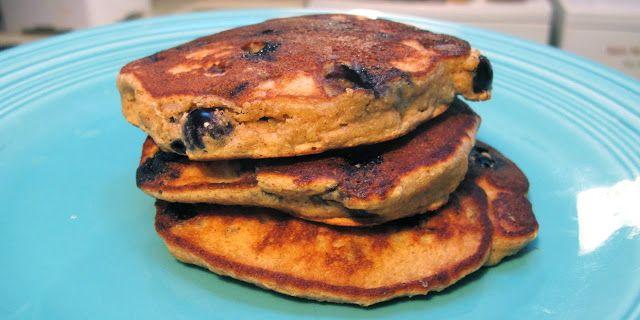 paleo Blueberry Pancakes: 2 small mashed bananas; 2 eggs; 3 ...