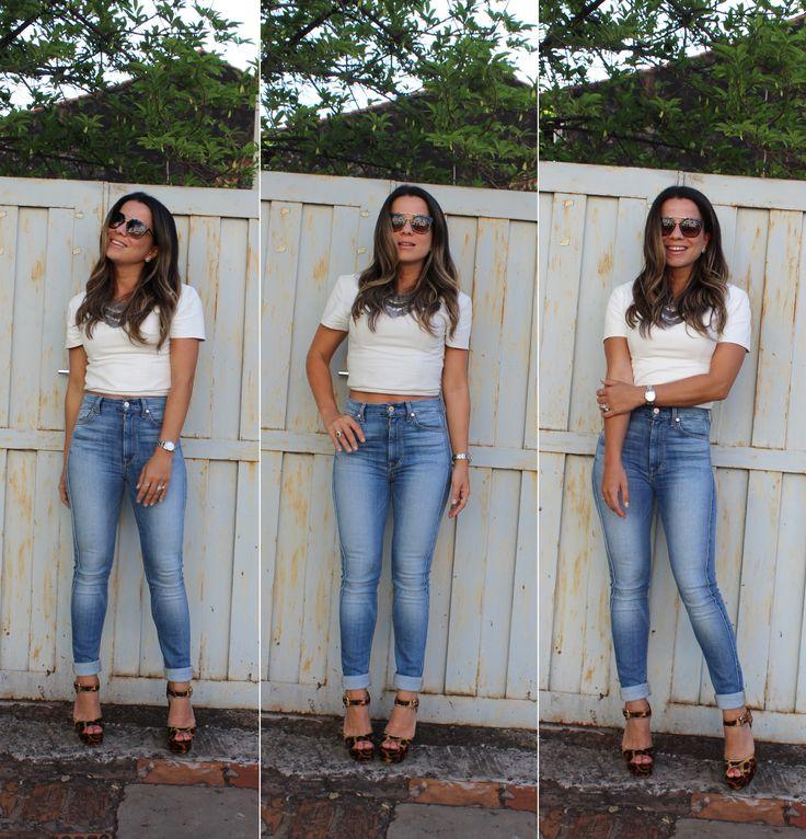 Como usar: Calça Skinny de cintura alta – TPM Moderna