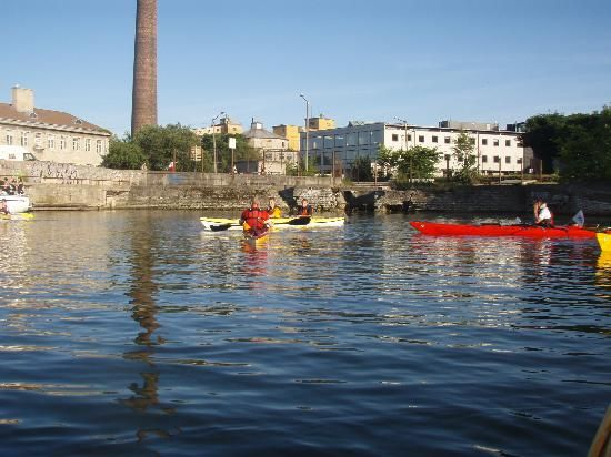 Kayak Tour - Tallinn stag weekend  Enjoy a day out on the water with this Kayaking adventure. Kayaking trip along the Tallinn. Read more:- http://bit.ly/1AP4eAd