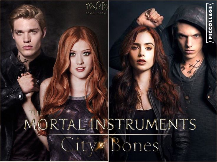 #TMI Shadowhunters and The Mortal Instruments (movie) Clary and Jace